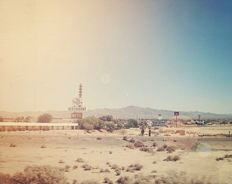 Adventure Photography, Road Trip, Nevada, Landscape Photography, Brown Nature, Mountains, Shabby Chic Decor - Retro Restaurant