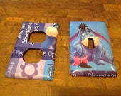 Disney Eeyore Light  and electrical outlet covers
