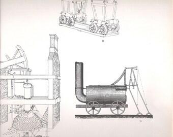 Old Train Print