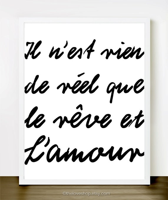 Romantic Quotes About Love in French French Romantic Love Quote