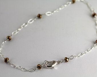 Glass Anklet. Listing 122683051