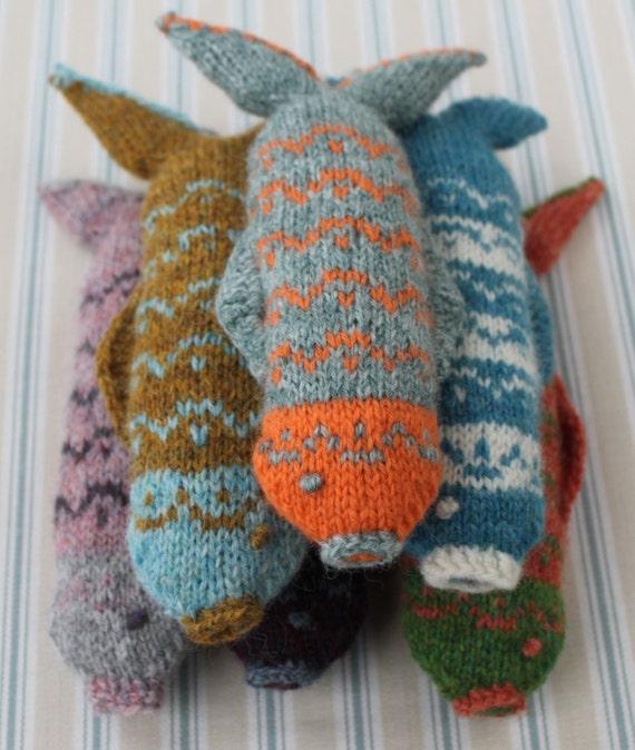 Knit Fish Pattern : Fair Isle Fish Knitting Pattern