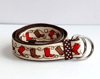 Cowboy baby/toddler/kid Belt