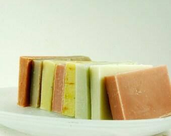 Handmade Sample Soap Bars - Set of 8 - Soap Sampler