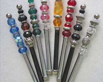 Touch Screen Stylus Beaded in Assorted Colors