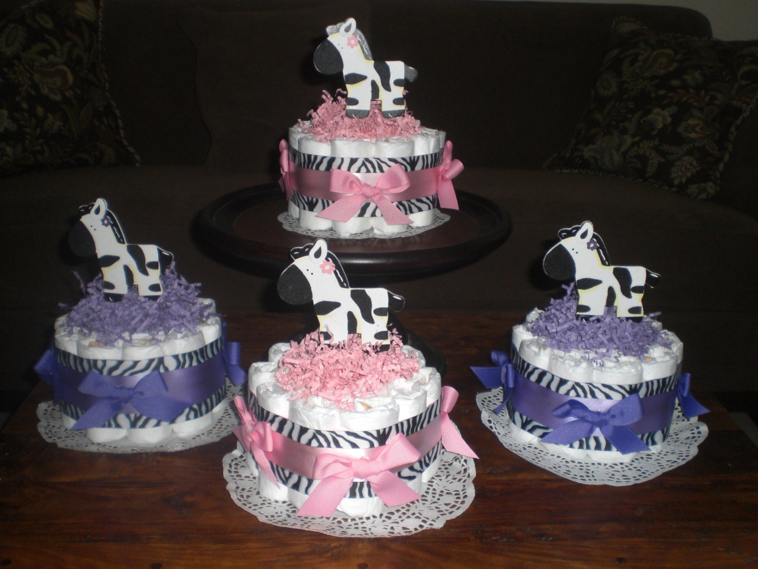 pink and purple baby shower decorations best baby decoration