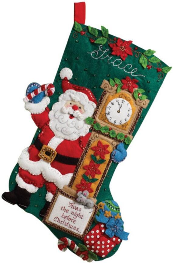 Sale Stocking Kit Twas The Night Before Christmas