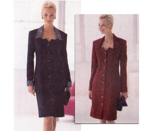 Misses Dress Pattern - Lined Dress Pattern - Jacket and Skirt Sewing Pattern - Womens Suit Pattern - McCalls 2471 - Size 10 to 14