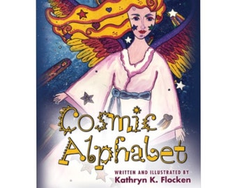 Cosmic Alphabet. Illustrated Children's Book