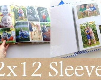 5 sleeves (10 pages) for 12x12 scrap book