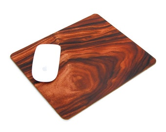 Leather Mousepad - Wood grain No.2