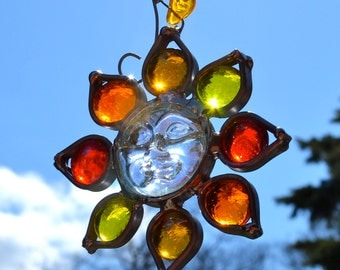 Tomorrow will be a Brighter Day Stained Glass Sun Catcher sun suncatcher