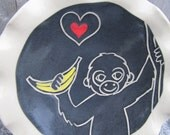 Monkey Love Ring Dish