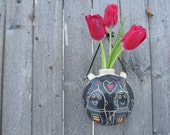Robot Love Wall Vase