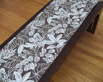 Table Runner ~ Tropical Fern ~ Modern Fern Table Runner ~ Waverly Terrarium Fern Table Runner ~ Farmhouse Decor
