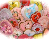 One Vintage Valentine Candy Box Collectable N0 109