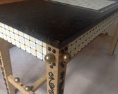 Bench, Coffee Table, Game Table, Storage Table, Hand Painted