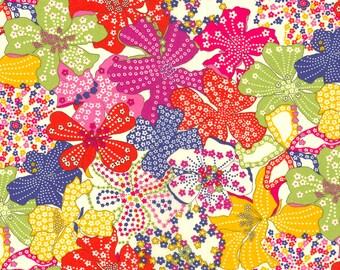 Liberty of London Tana Lawn Fabric Mauvey F Brights Fat Quarter