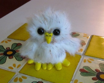 Baby Owl Plush stuffed animal Made to Order