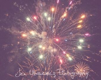 Fireworks Photography Print