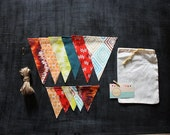 SALE DIY Bunting Kit: Indian Summer