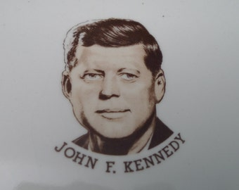 John F. Kennedy In Memoriam 1917-1963 Collectors Plate.