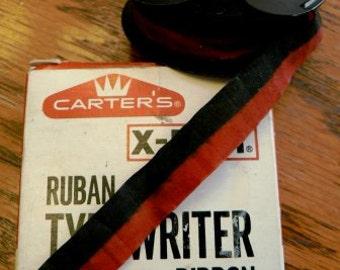 vintage office  ... CARTER TYPEWRITER Xpert  RIBBON in original box  ...