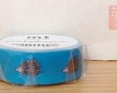 mt washi masking tape - designer collection - mt x Lisa Larson - single - IGGY the hedgehog