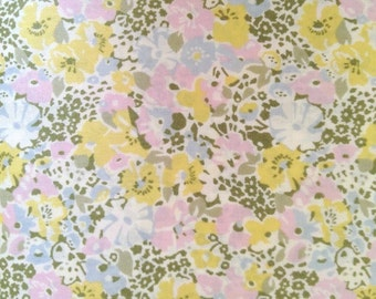 SALE - lucy locket - liberty of london - fat quarter - yellow