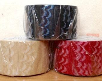 zwillinge - washi paper masking tape - wave - 30mm x 15m - single piece