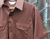 Vintage Brown Capri California Polo Shirt