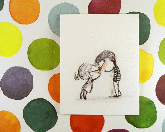 Clink Greeting Card - Perfect for anniversary, wedding, saying i love you