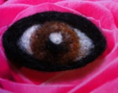 Custom Needle Felted Eye - OOAK - Your Choice of Colors