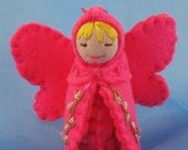 Pink Fairy Doll- Waldorf Inspired