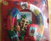 Mexican San Martin Herradura Good Luck Horse Shoe for Business and Home Placard