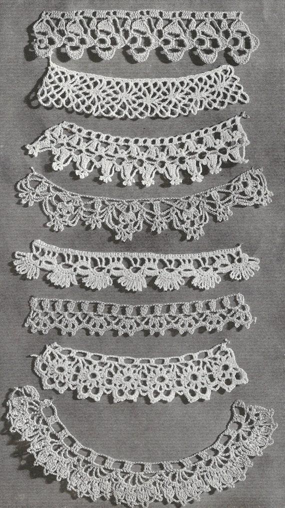 lace edging patterns