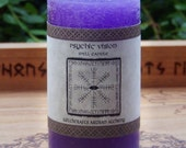 PSYCHIC VISION Signature Spell Candle by Witchcrafts Artisan Alchemy