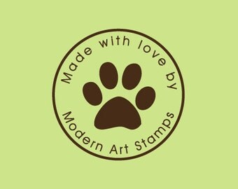 Custom Rubber Stamp   Custom Stamp   Personalized Stamp   Animal Paw Stamp   Paw Stamp   Paw Print Stamp   Animal Stamps   C499