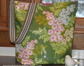 Reversible Tote Bag with Laminated Nicey Jane Fabric