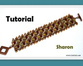 Tutorial Sharon SuperDuo and Tila Beadwork Bracelet PDF
