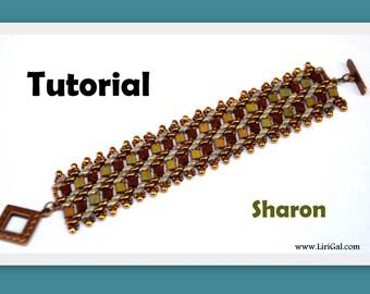Tutorial Sharon SuperDuo and Tila Beadwork Bracelet PDF