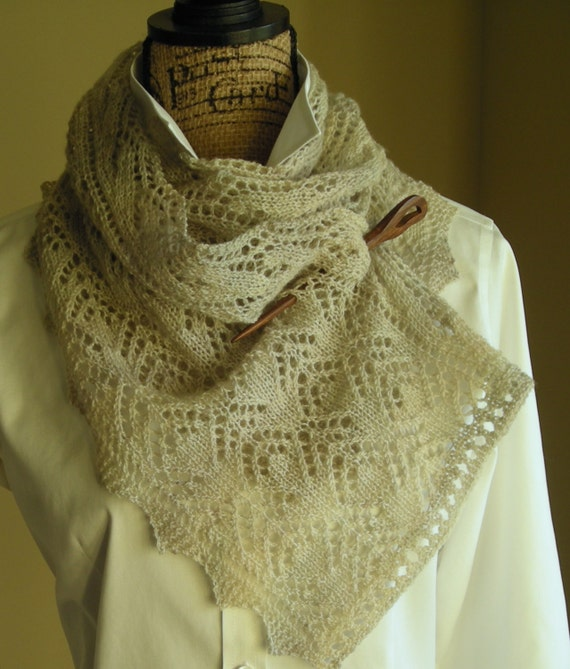 Knitting Pattern Spring Scarf : Knitting Scarf Pattern PDF Smoky Mountain by lavenderhillknits
