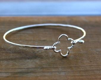 Clover Bracelet - Four Leaf Clover Bracelet - Clover Jewelry