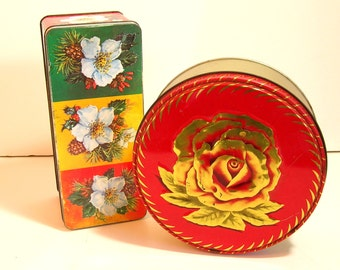 Vintage Floral Tins Floral Designs