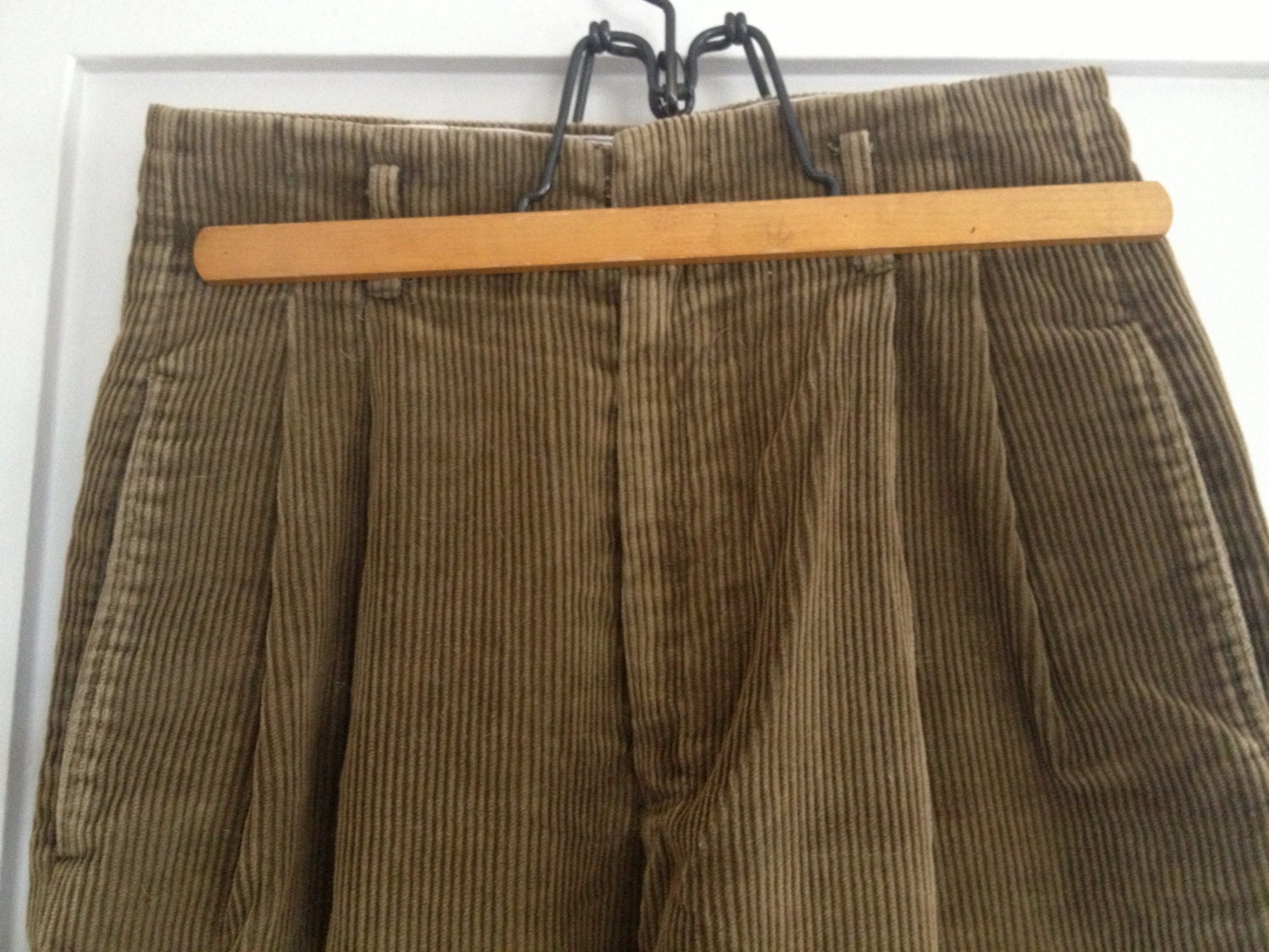Vintage Ralph Lauren Country Corduroy Pants Wide Wale High
