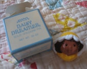 Cute Little Avon Solid Cologne Pin with Daisy Dreamer