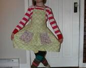 Vintage Inspired Child Apron for Girls