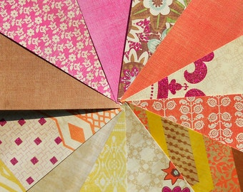 DESTASH - Recollections- Trader Jane: Sun - Pack of 12 Different Scrapbook Papers, 6 inch X 6 inch