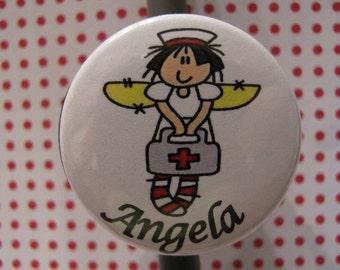 Ragamuffin Nurse Stethoscope ID Badge Reel Combo Offer