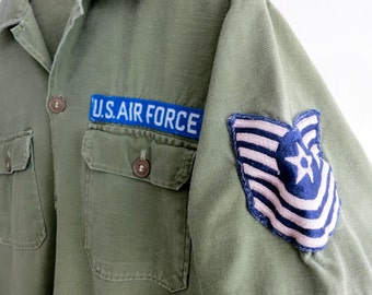 The Patched U.S. Air Force Button Down Shirt